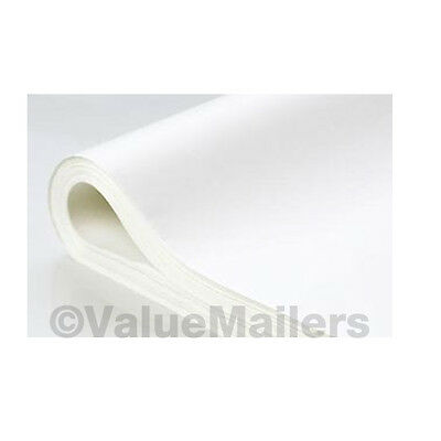 "TISSUE PAPER 20"" x 30"" ~ WHITE~ 960 large Sheets ~ 2 REAMS on Rummage"