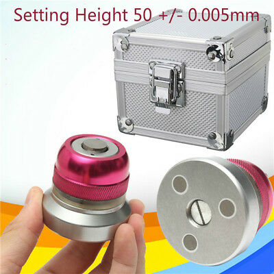 Z Axis Zero Pre-setter Tool 50 - 0.005mm For Cnc Lathe Milling Machine Pink