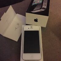 Excellent condition, like NEW iphone 4s WITH case
