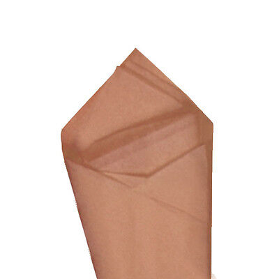 24 Sheets Pack 20 X30 Mocha Brown Quality Premium Grade Color Tissue Paper