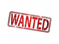 *WANTED* one bed flat or house to rent end of August