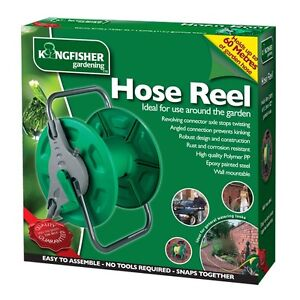 PORTABLE-WALL-MOUNTED-HOSE-PIPE-REEL-GARDEN-WATERING-FREE-STANDING-RUST-PROOF