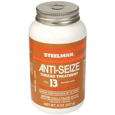 - STEELMAN JSP10116 - 8 Ounce Anti-Seize Thread Lubricant