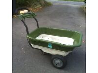 LUV Cart Electric Wheelbarrow Garden / Fishing Utility Trolley