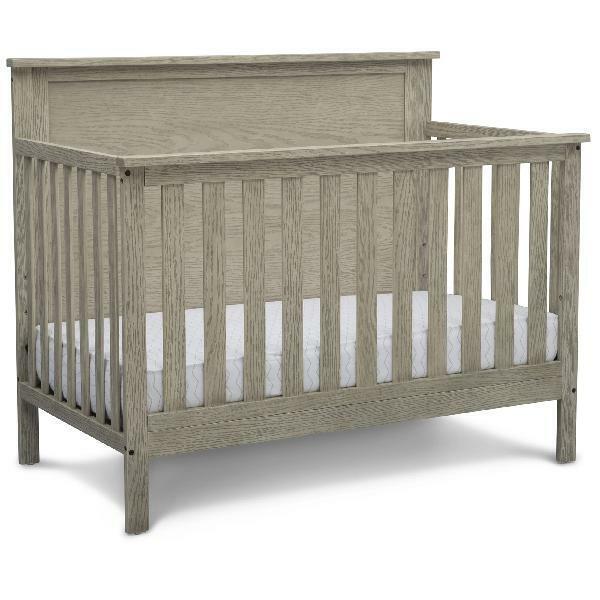 Delta Children Middleton 4-in-1 Convertible Baby Crib, Textu