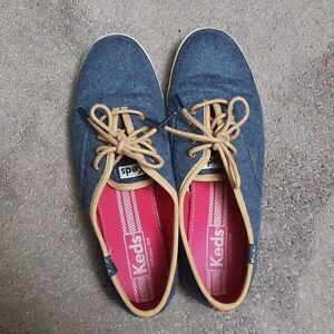 Keds Champion wool navy blue/ brown lace