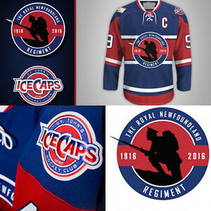 Looking for St. John's IceCaps Military Regiment Jersey!