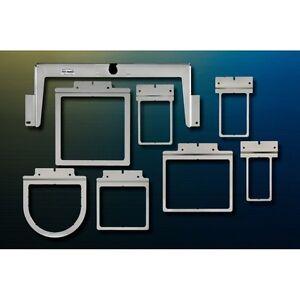 Fast Frames 7n1 Embroidery Hoop Set for Brother PR600/620/650/655