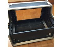 "Kamkase Flight Case for 19"" twin CD player and Mixer"