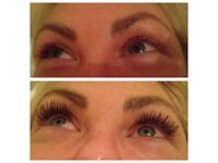 Eye Lash eyelash extensions - London technician now in Holywood