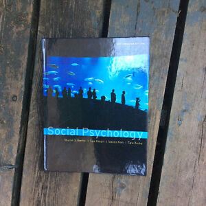 Social Psychology / 1st. Edition - University TextBook