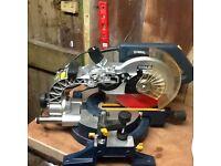 Titan 1800w compound sliding mitre chop saw