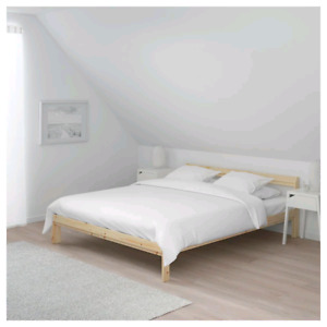 2 Brand new wooden bed frames