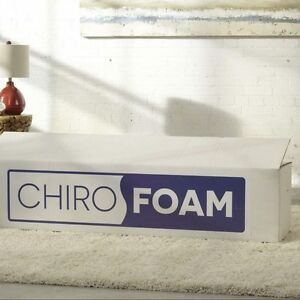 The CHIROFOAM Mattress - A better sleep with the best price!