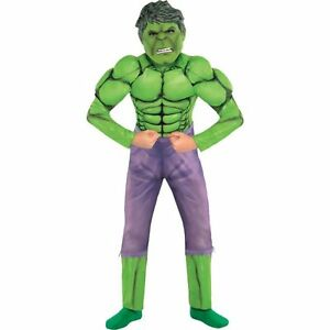 BOYS HULK MUSCLE COSTUME!!!!