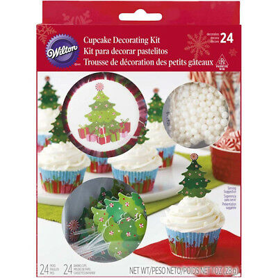 Christmas Tree Cupcake Decorating Kit from Wilton #7223 - NEW