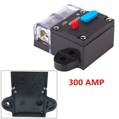 - 300 AMP 0 2 4 Gauge Car Audio Inline Power Circuit Breaker DC 12V System Sturdy