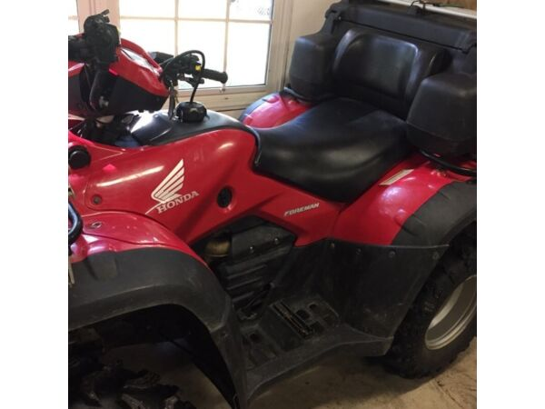 Used 2008 Honda 500 Rubicon