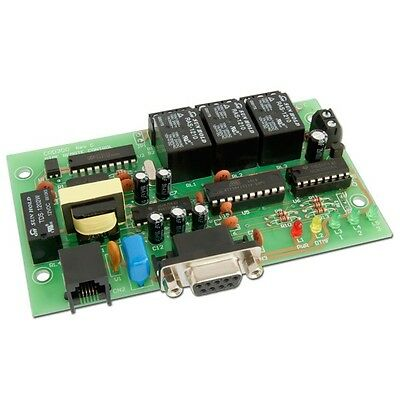 DTMF Remote Control Board 6 OUT (works with land line, cellular, radio or RS232)