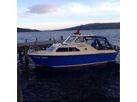 Shetland 640 cabin cruiser boat
