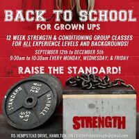 12 week strength and conditioning classes