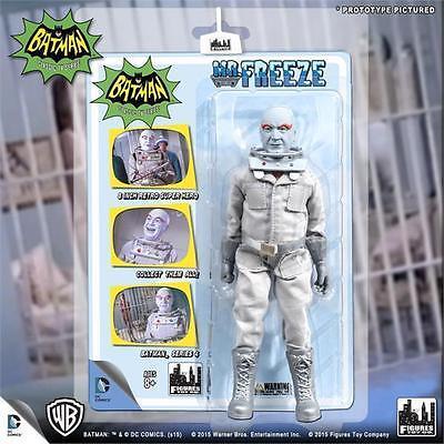 Batman 1966 Tv Series  4  Mr Freeze 8 Inch Action Figure New Mosc