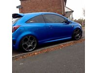 2008 CORSA VXR ARDEN BLUE 19' ALLOYS COILOVERS HPI CLEAR MUST SEE