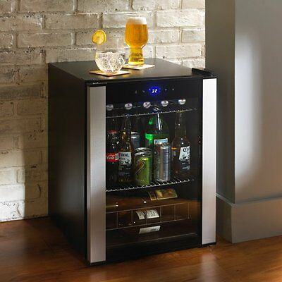 Beverage Wine Cooler Party Chiller Appliance Refrigerator Home Entertain Bar NEW
