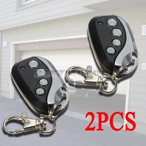 2x mhz transmitter garage gate door 4 channel rolling code remote control ebay - Rolling code garage door remote ...