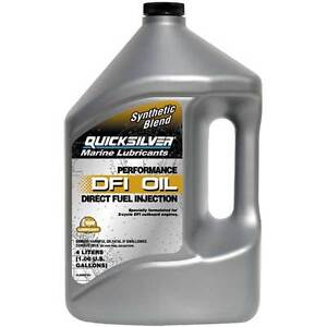 Mercury Optimax DFI oil by Quicksilver