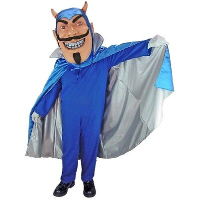 Blue Devil Professional Quality Mascot Costume Adult Size - Blue Devil Costume