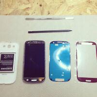 Réparation (glass repair ) Vitre Samsung galaxy S3: 59$  *EXCLU*