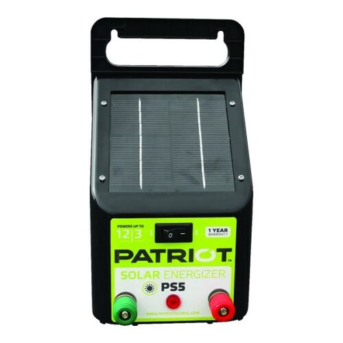 Patriot - PS5 Solar Energizer - 0.04 Joule FREE SHIPING