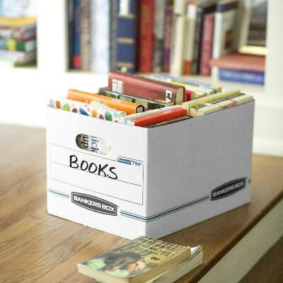 10 File Storage Box Lid Letter Legal Office Home Document Folder Organization