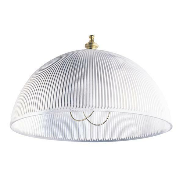 Westinghouse Clip-On Shade 8 In. Dia Clear
