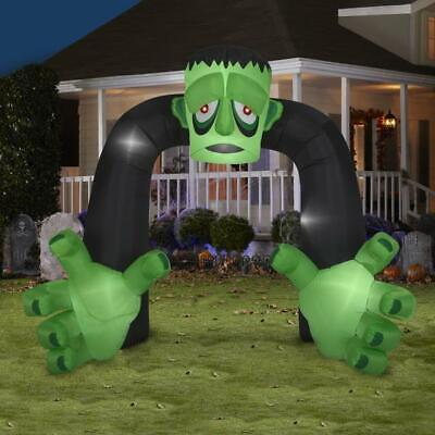 8' Airblown Archway Monster Halloween Inflatable](Halloween Archway Inflatable)