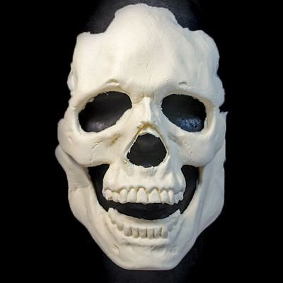 Woochie Pro Foam Latex Prosthetic Appliance Mask Halloween Zombie Skull Burn  - Professional Foam Latex Halloween Masks