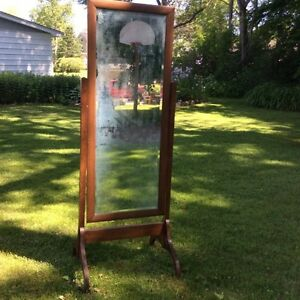 Antique Full Length Mirror