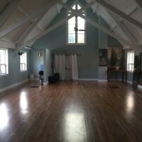 Shared large studio space for rent, hourly