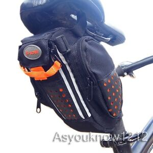 2013 Modern Cycle Bicycle bike waterproof pannier saddle pouch Seat bag yellow