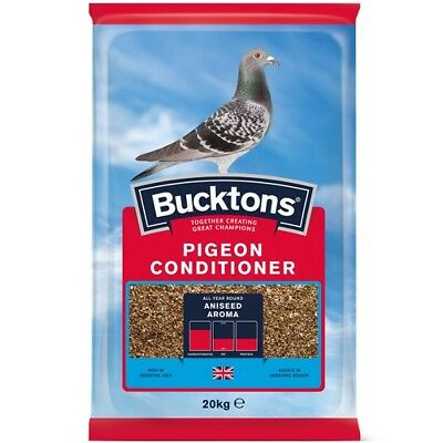 Bucktons Pigeon Conditioner Trapping Mix Bird Food 20KG Top Quality Seed Feed