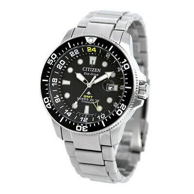 Citizen Promaster Marine Titanium Eco-Drive Watch - BJ7110-89E NEW