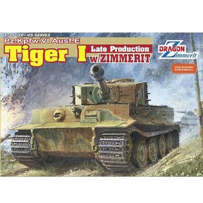 Dragon #6383 1/35 Pz.Kpfw.Ⅵ Ausf.E Tiger I Late Production w/Zimmerit