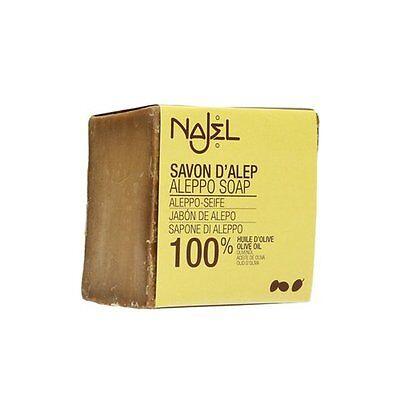 Najel - Sapone di Aleppo 100% olio d'oliva 170g