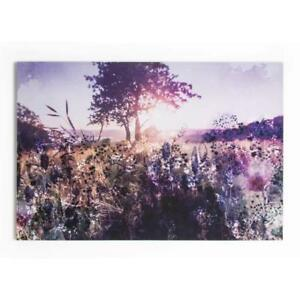 Summer 2015 Layered Landscape Photographic Print on Wrapped Canvas