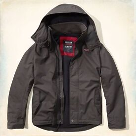 (REDUCED) Authentic Hollister Waterproof Coat