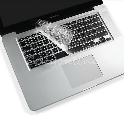 Thin Clear TPU Keyboard Cover Skin Protector for Apple Macbook Pro 13 15 Retina