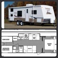 2007 travel trailer 29' bunkhouse