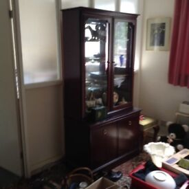 Stag Minstrel China cabinet
