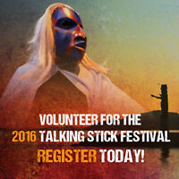 ~~~ VOLUNTEER:  TALKING STICK FESTIVAL!!! ~~~~